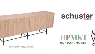 Schuster Móveis e Design na High Point Market - EUA