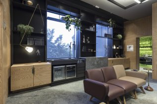 Casa Cor 2017 Sala de Reuniões Informal -  Foto Marcelo Donadussi